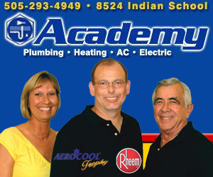 Plumbers in Albuquerque Academy Plumbing Heating Cooling Electric