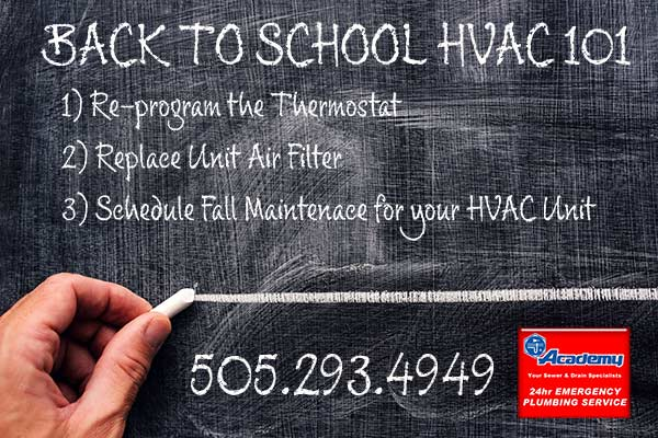 Back to School Basics of HVAC Maintenance
