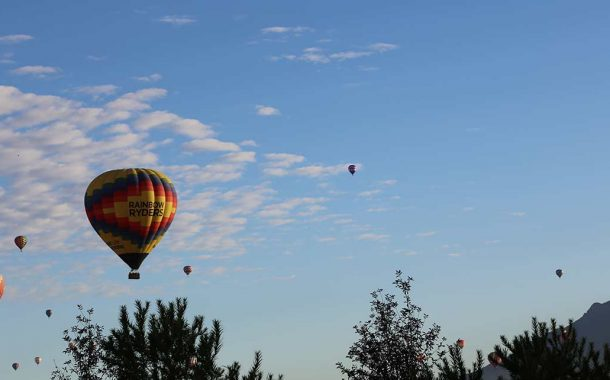 Balloon Fiesta and Company Coming