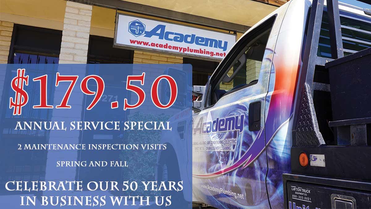 Annual Service Special
